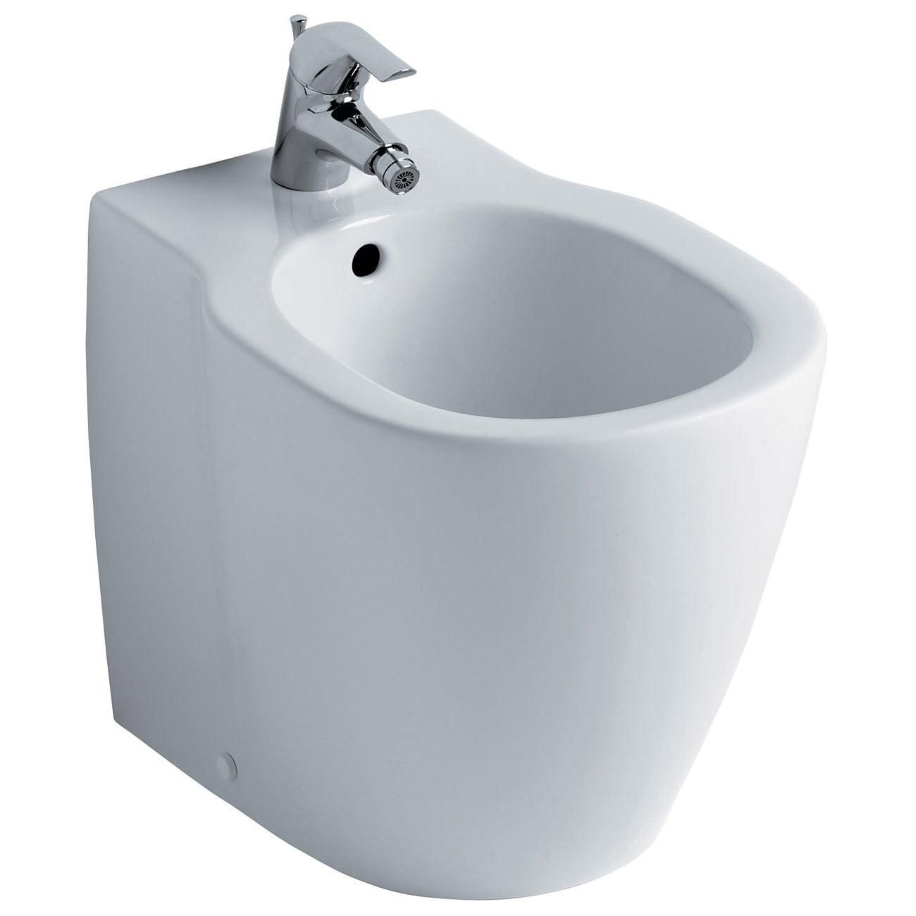 Ideal standard concept back to wall floorstanding bidet 545mm for Bidet ideal standard