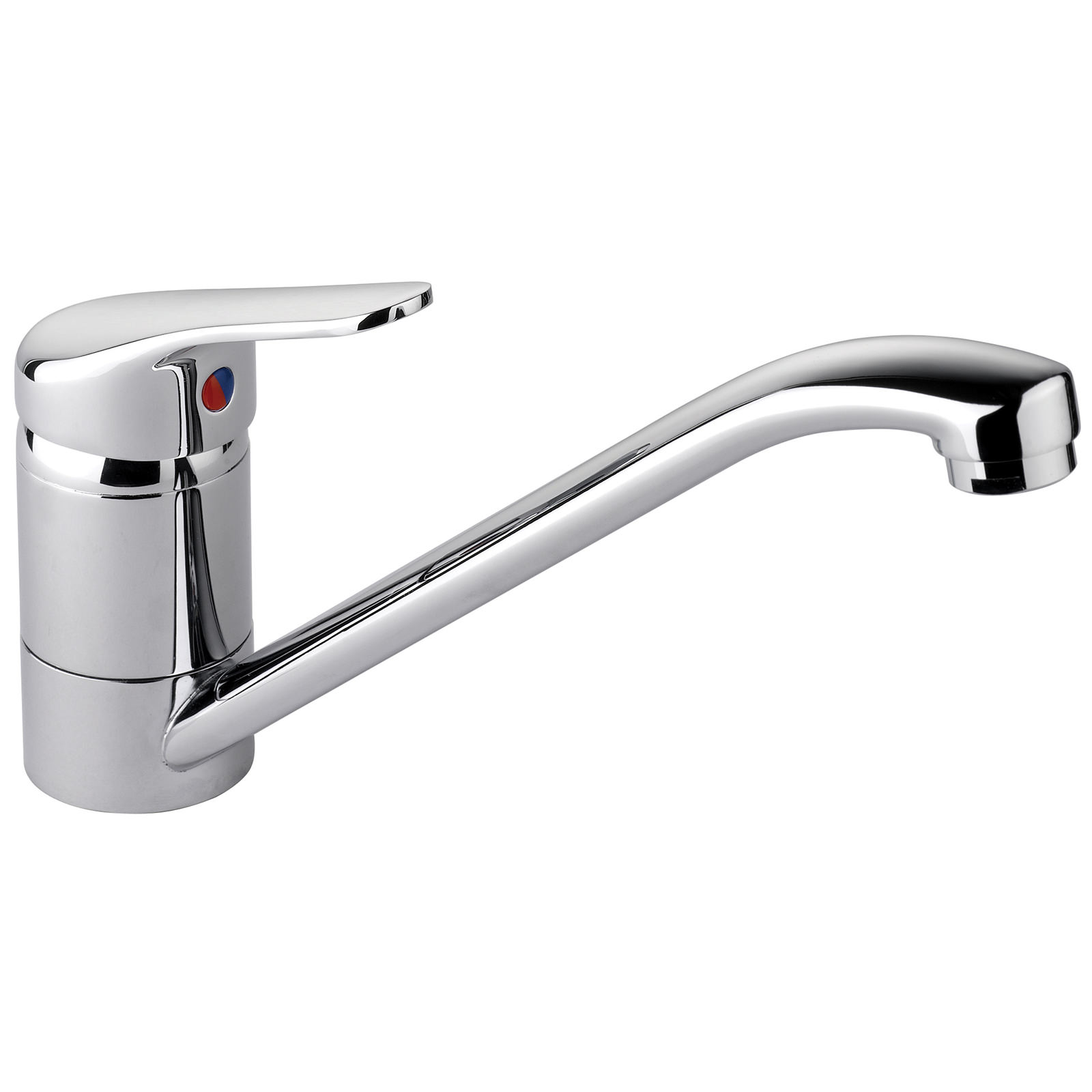 taps for kitchen sinks uk rangemaster aquaflow single lever kitchen sink mixer tap 8437