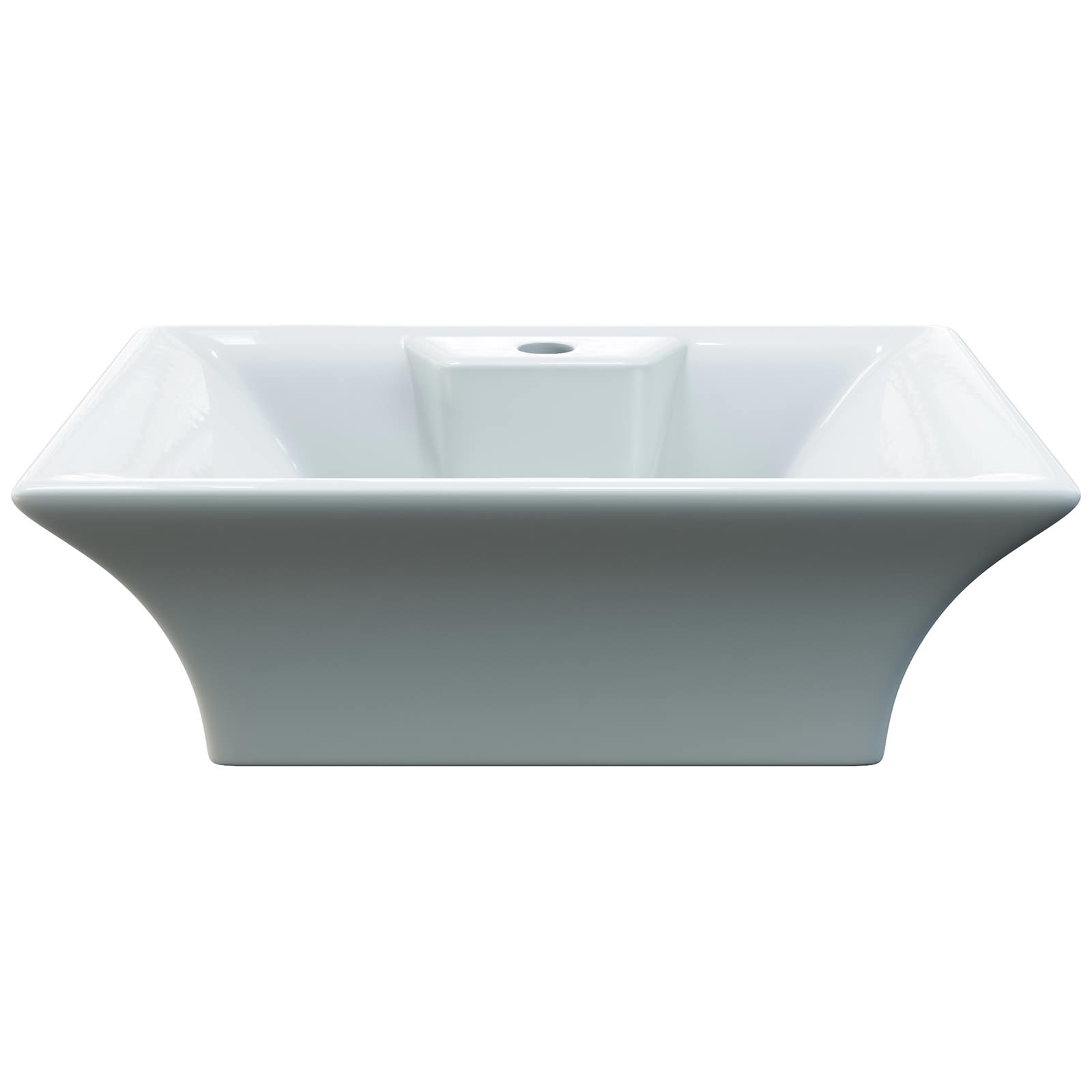 Aqva Atlas Rectangular Countertop Wash Basin Nbv005