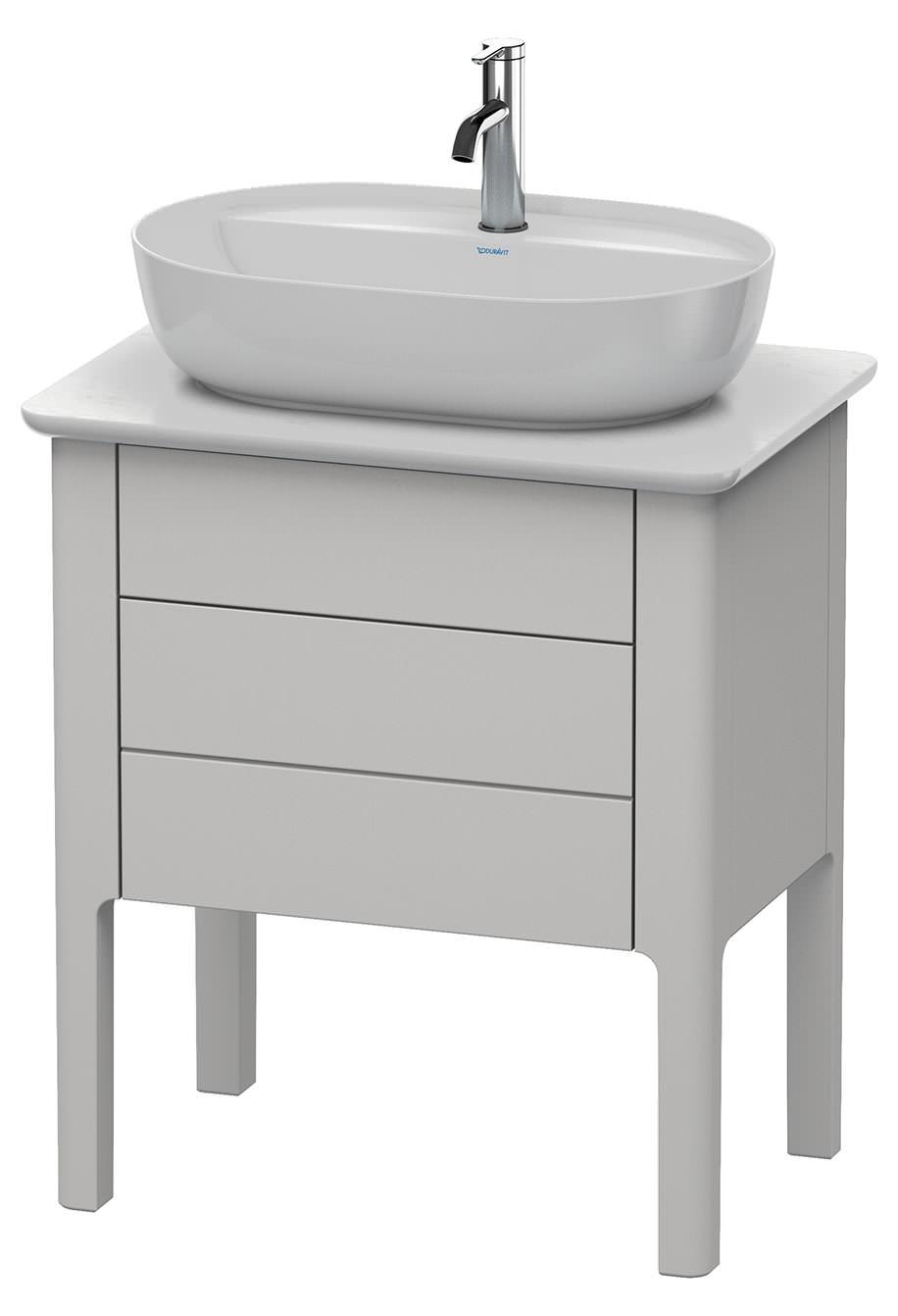 duravit luv 688 x 450mm floor standing vanity unit nordic. Black Bedroom Furniture Sets. Home Design Ideas