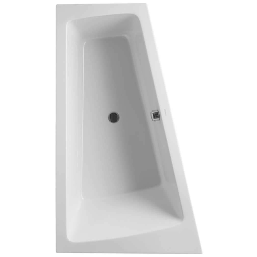 Shower Rails For Corner Baths Duravit Paiova 1700 X 1000mm Built In Bath With Frame And