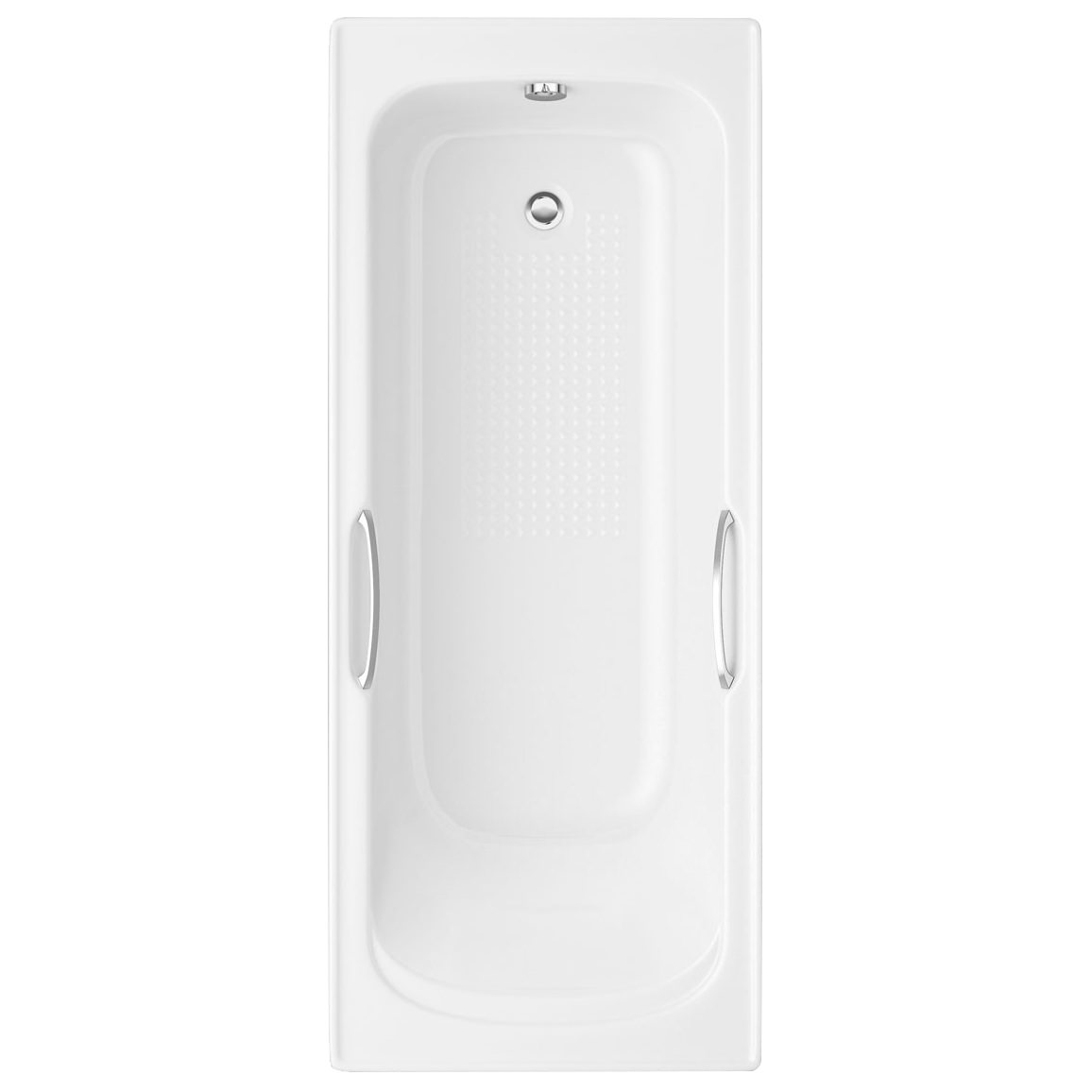 Trojan Granada 1675 X 700mm 8mm Bath With Grips