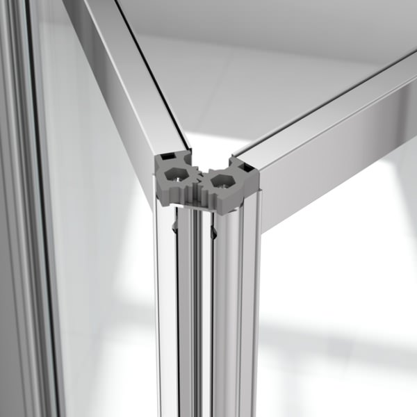 Merlyn Ionic Source 4mm Glass Bi Fold Door 700 X 1850mm