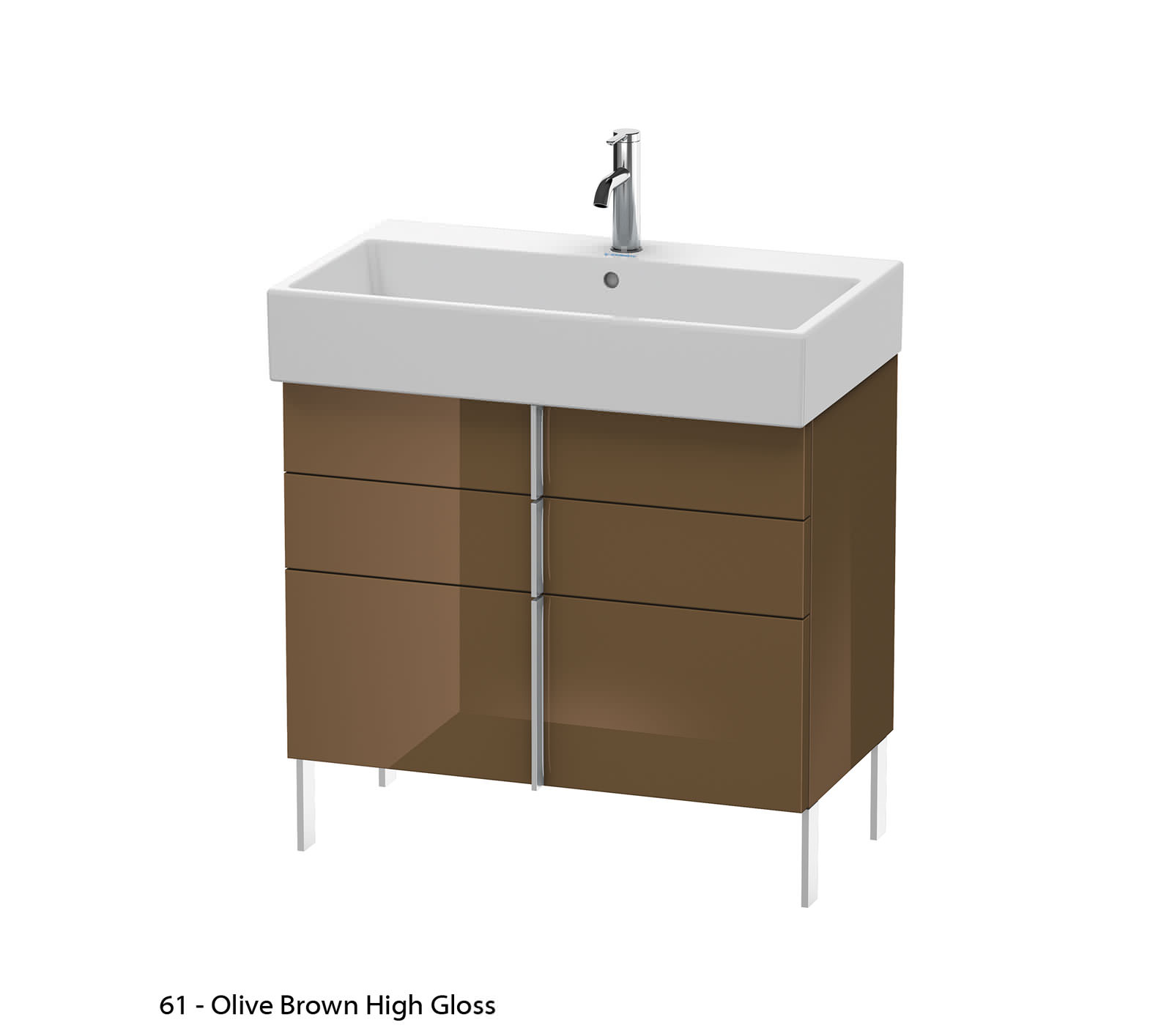 duravit vero air 784 x 431mm 2 drawer floor standing unit. Black Bedroom Furniture Sets. Home Design Ideas