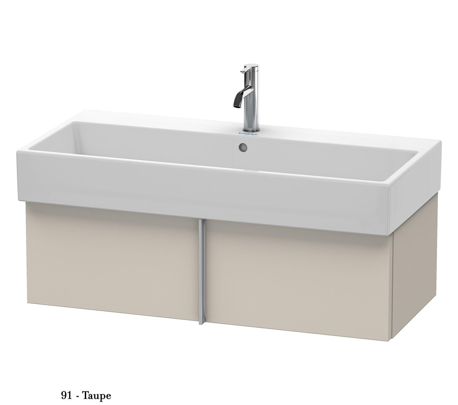 duravit vero air 984 x 431mm 1 pull out compartment unit. Black Bedroom Furniture Sets. Home Design Ideas