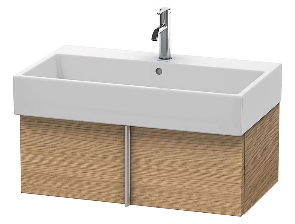 duravit vero air 984 x 431mm 1 pull out compartment unit va612805252. Black Bedroom Furniture Sets. Home Design Ideas