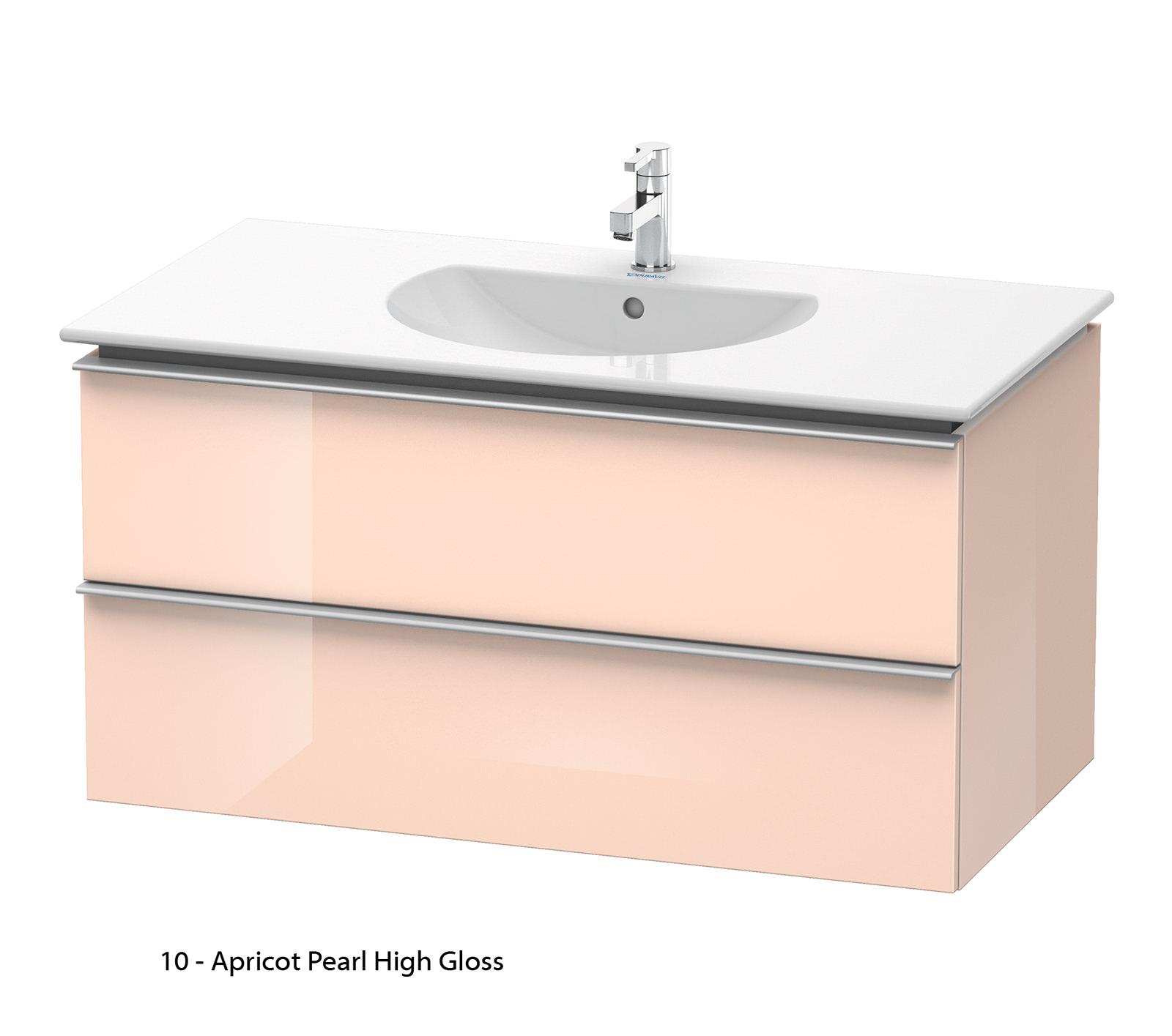 Duravit darling new 1000mm 2 drawers terra vanity unit for 1000mm kitchen drawer unit
