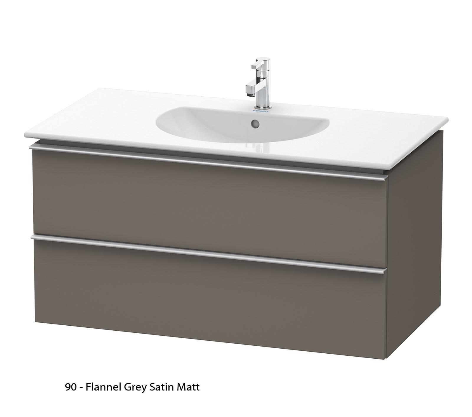 duravit darling new 1000mm 2 drawers terra vanity unit. Black Bedroom Furniture Sets. Home Design Ideas