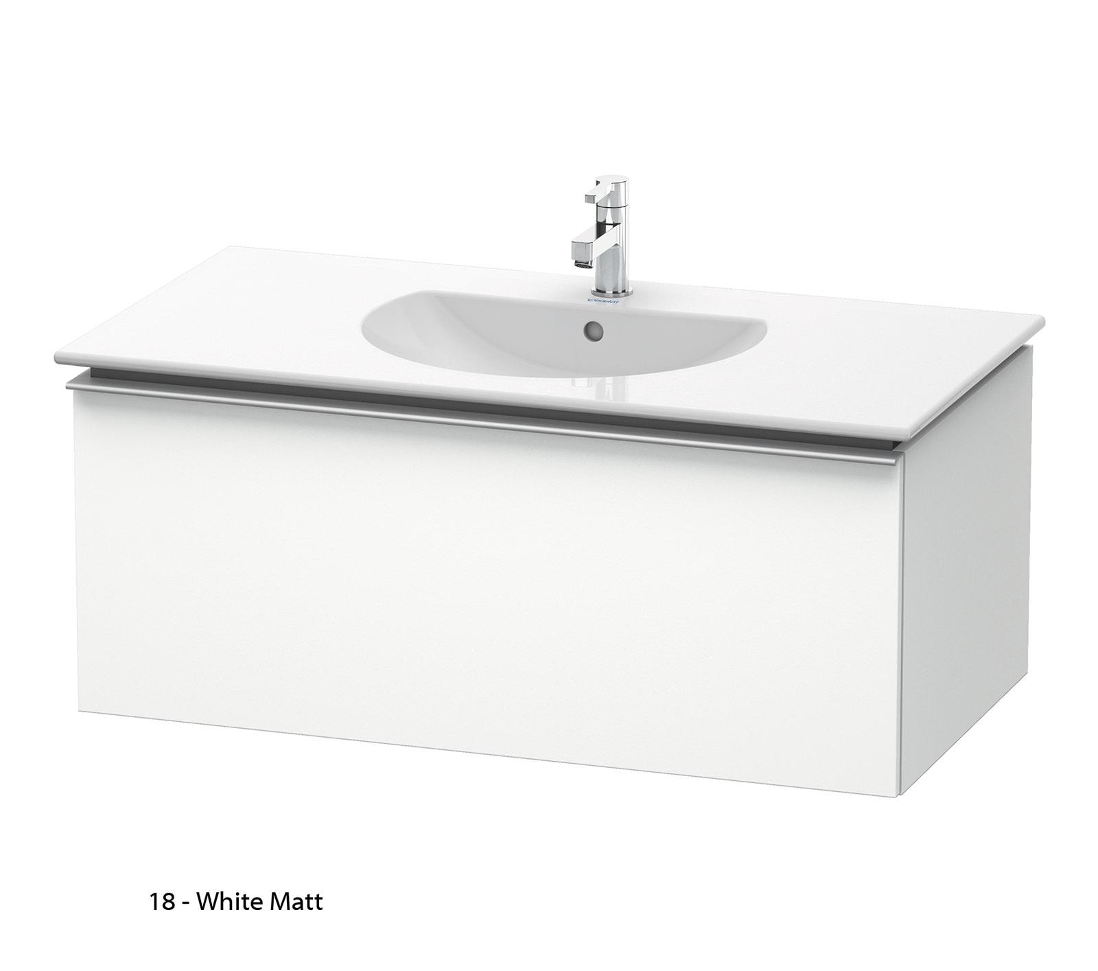duravit darling new 1000mm wall mounted basin vanity unit dn6462. Black Bedroom Furniture Sets. Home Design Ideas