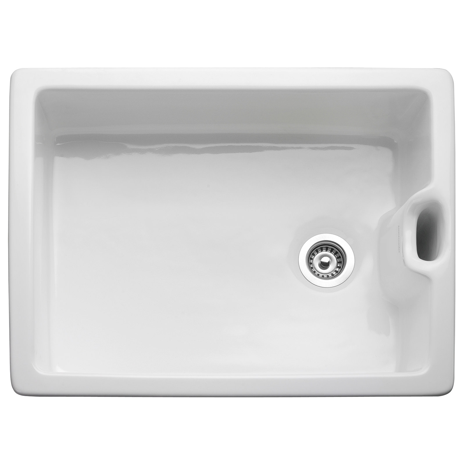 Rangemaster Classic 595 X 455mm Fire Clay Ceramic 1.0B Belfast Sink