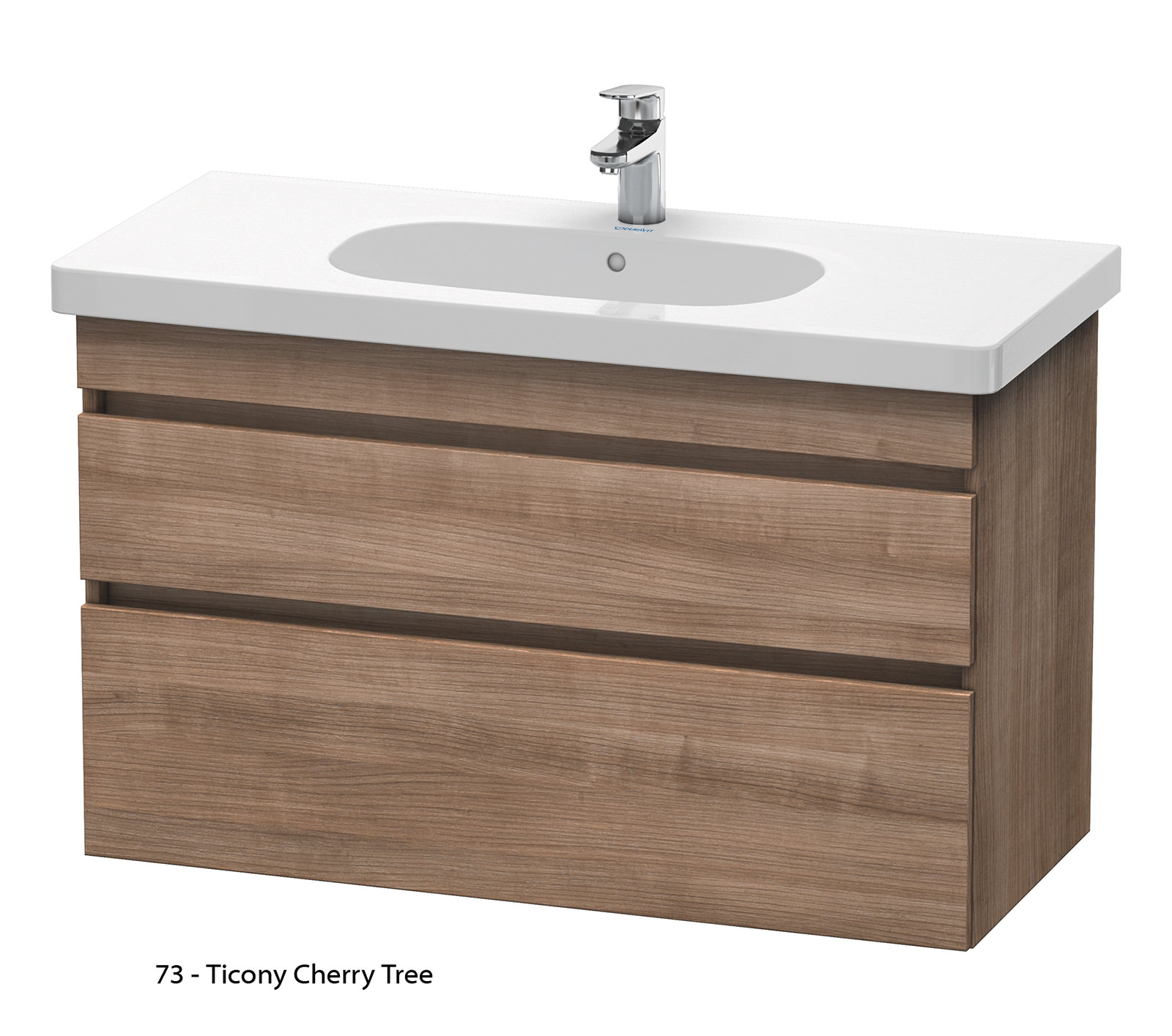 Duravit durastyle 1000mm 2 drawers unit with d code 1050mm for 1000mm kitchen drawer unit