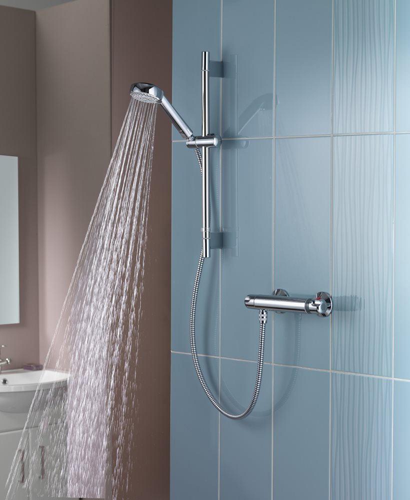 Aqualisa Midas 100 Thermostatic Bar Shower Mixer Valve