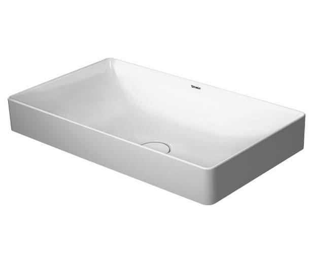 duravit durasquare 600 x 345mm ground wash bowl 2355600000. Black Bedroom Furniture Sets. Home Design Ideas