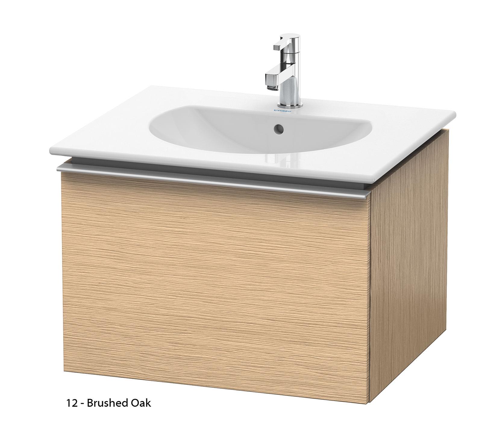 duravit darling new 600mm terra vanity unit with 630mm basin dn6460. Black Bedroom Furniture Sets. Home Design Ideas
