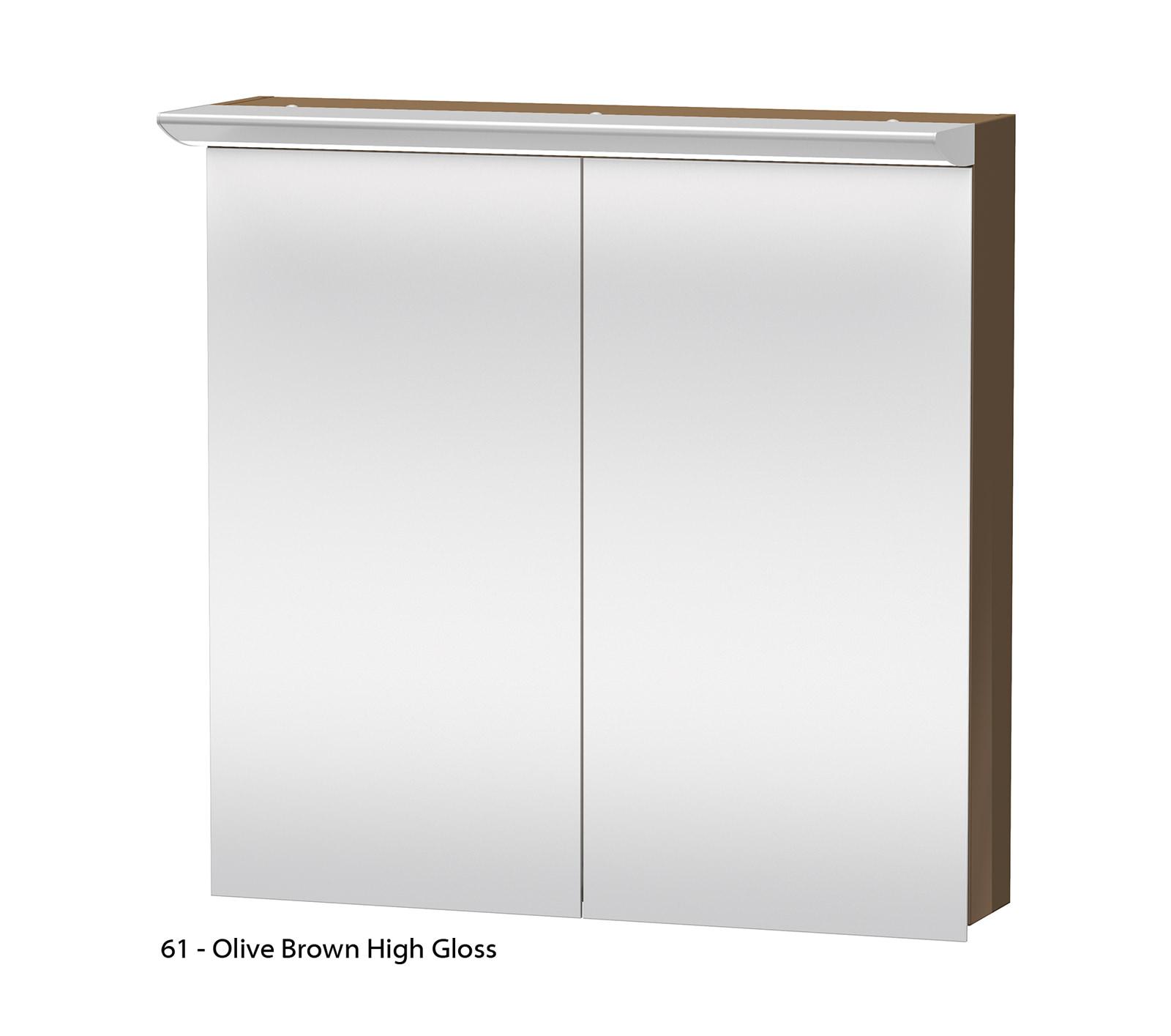 Duravit Darling New 800mm 2 Door Mirror Cabinet Dn753601414