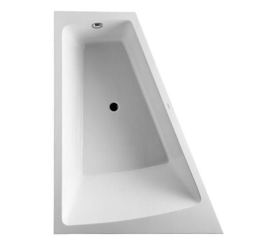 Duravit Paiova 1700 x 1300mm Left Backrest Slope Bath With Panel And ...