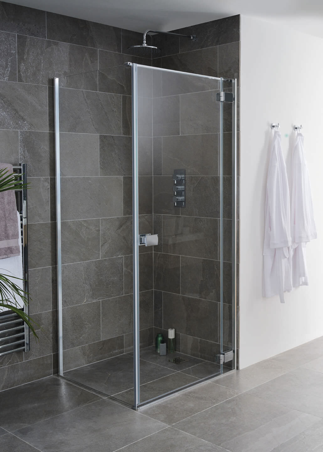 Lakes Island Grenada 750 X 2000mm Frameless Hinge Shower Door