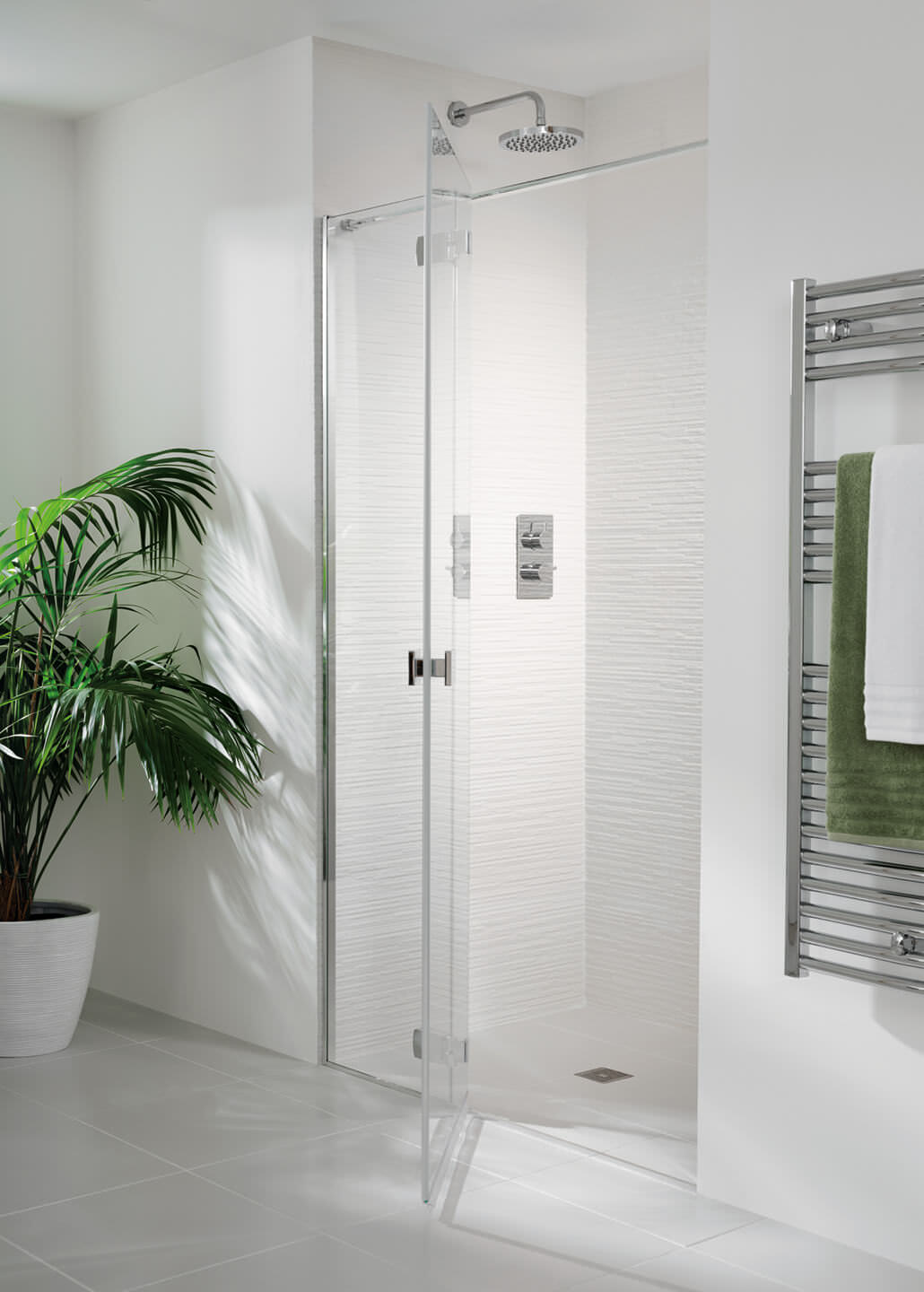 Lakes Island Martinique 1200 X 2000mm Shower Door And