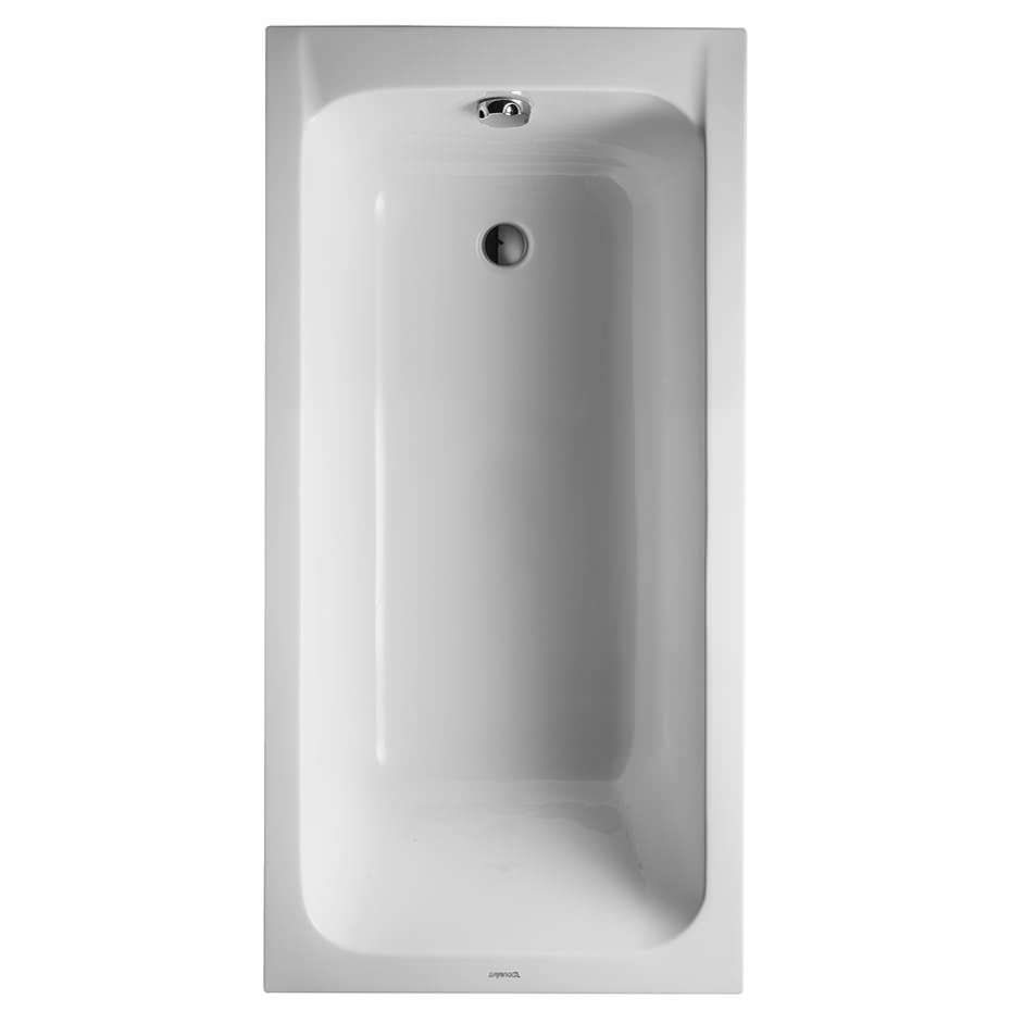 Duravit D-Code 1500 x 750mm Built-In Bath With Support Feet - Outlet ...