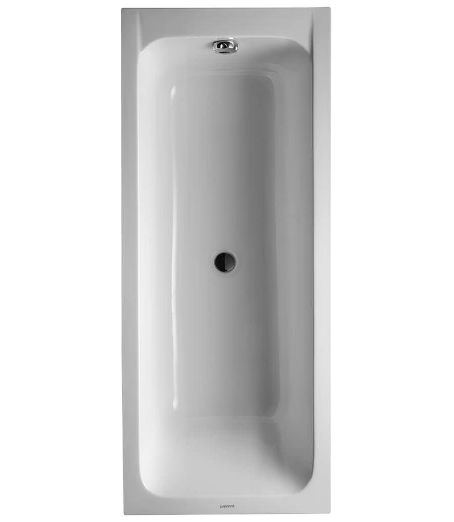 Duravit D-Code 1700 x 700mm Built-In Bathtub With Support Feet ...