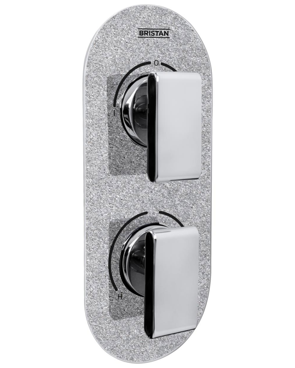 Bristan Metallix Pivot Concealed Dual Control Thermostatic