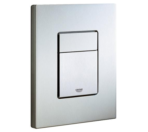 grohe skate cosmopolitan chrome flush plate 38732000. Black Bedroom Furniture Sets. Home Design Ideas