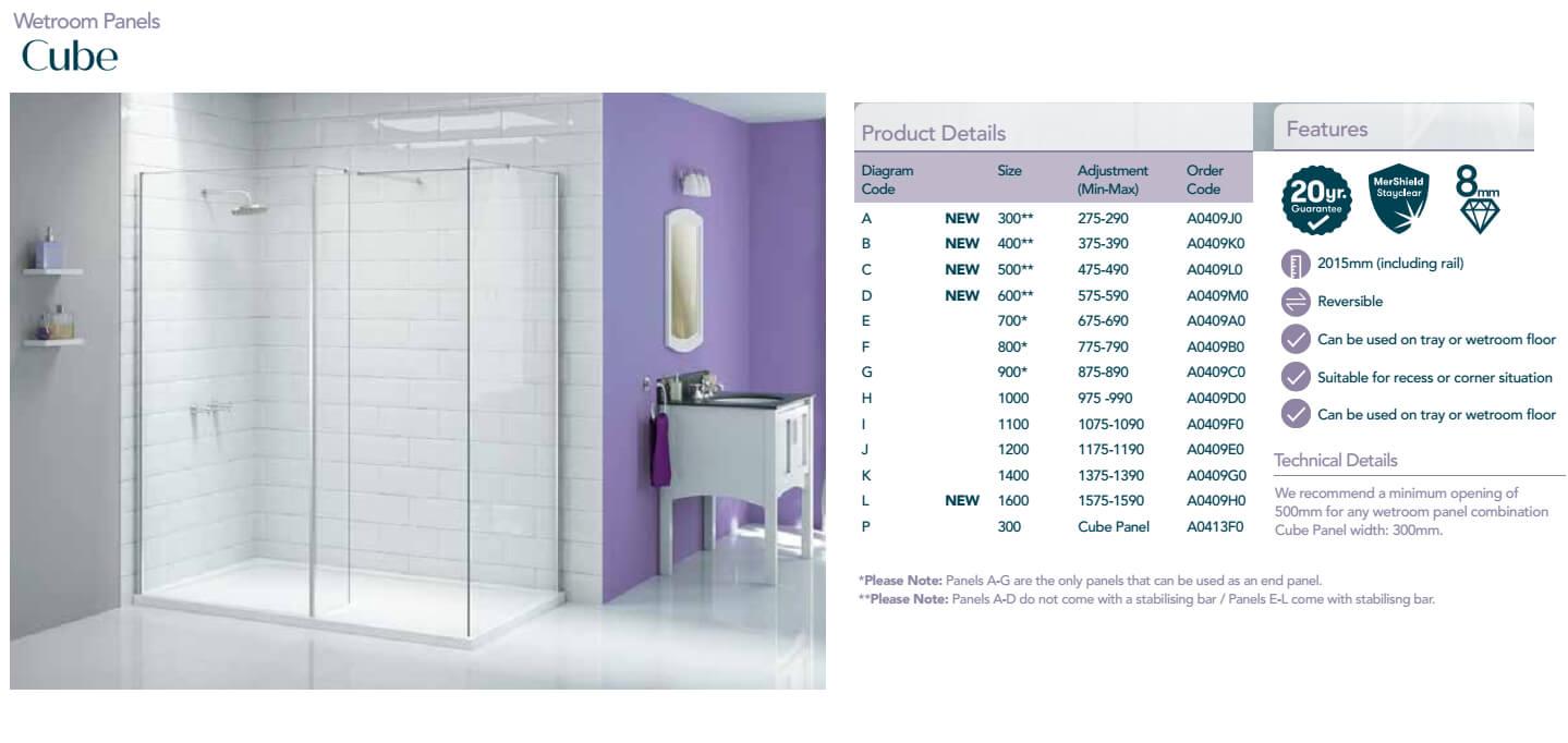 MERLYN IONIC WALK IN WITH SWIVEL PANEL 8mm GLASS WETROOM SHOWER BATHROOM CHROME