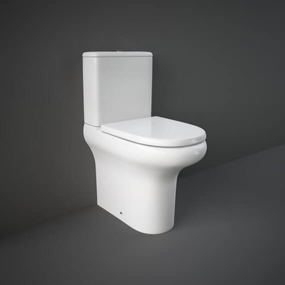 RAK Compact Deluxe Close Coupled Fully Back To Wall WC Pack 625mm COMPAK45SC