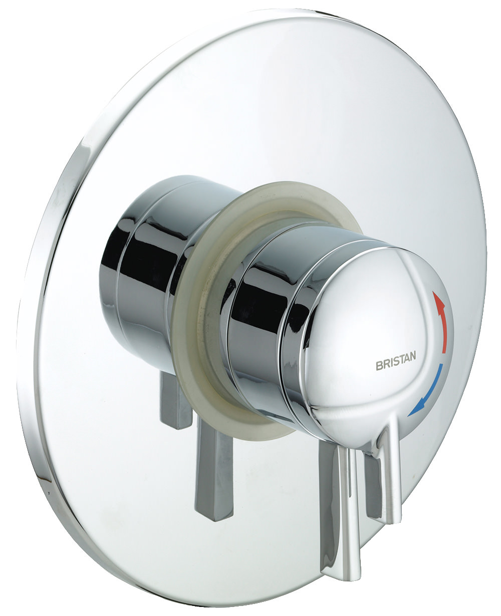 Bristan Gummers TS1875 Stratus Concealed Shower Valve With Chrome Lever