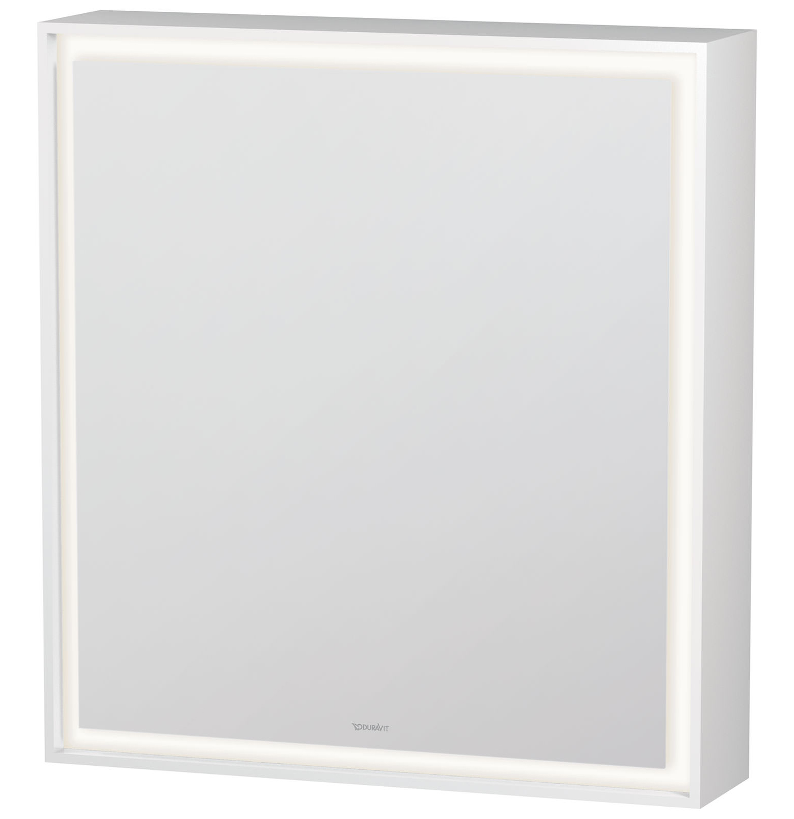 Duravit L Cube 650mm Single Door Mirror Cabinet