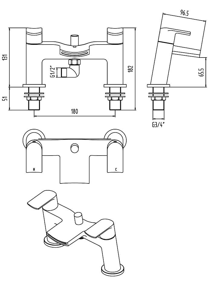 shower mixer tap installation instructions