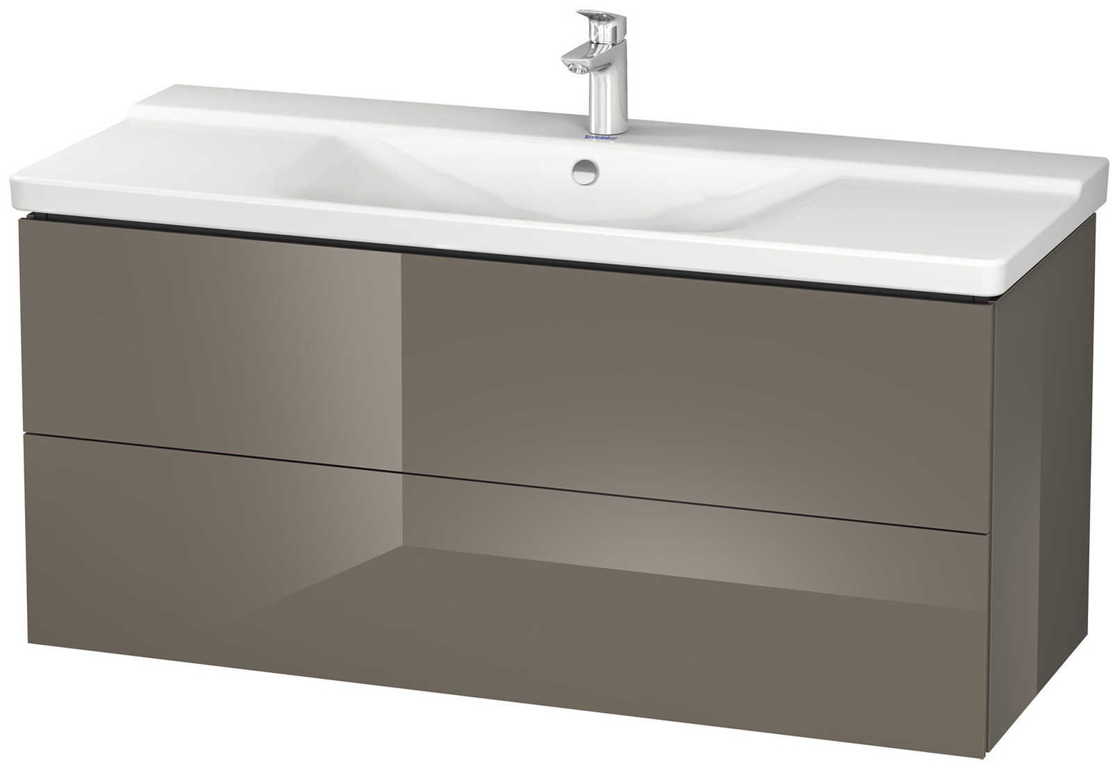 duravit l cube 1220mm wall mounted vanity unit with p3 comforts basin. Black Bedroom Furniture Sets. Home Design Ideas