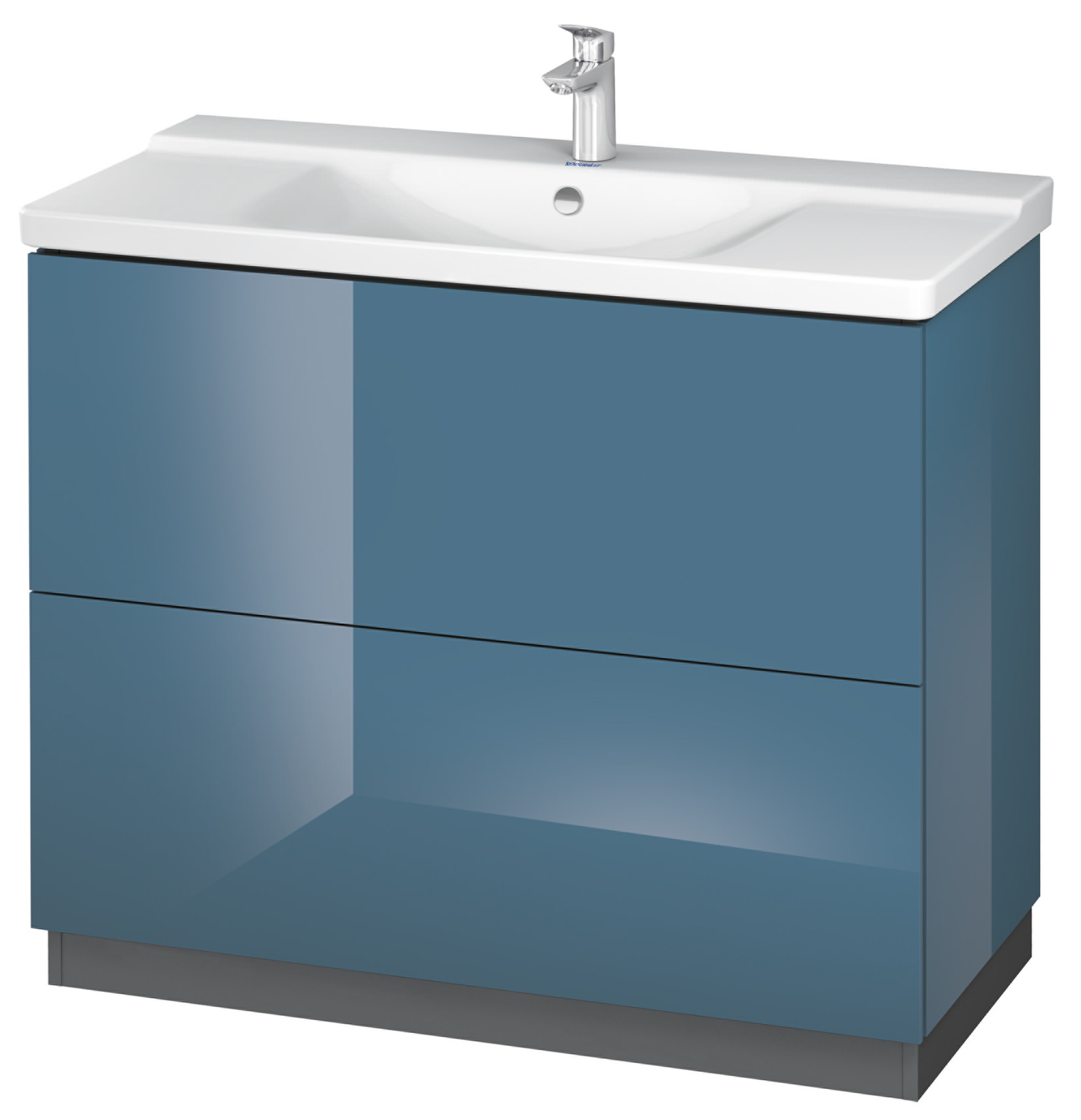 Duravit L Cube 1020mm Floor Standing Vanity Unit With