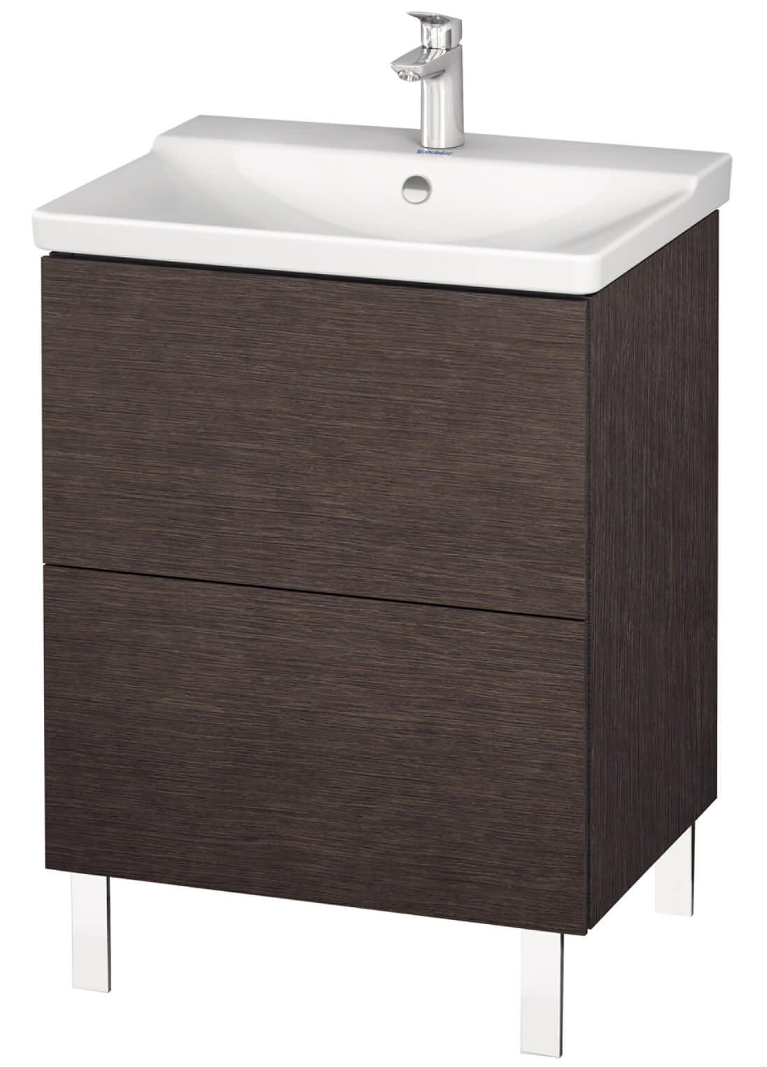 duravit l cube 620mm floor standing vanity unit. Black Bedroom Furniture Sets. Home Design Ideas