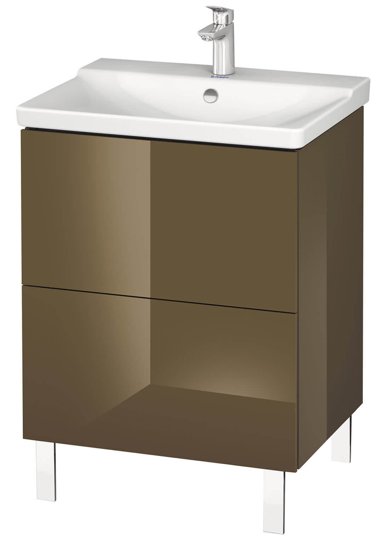 duravit l cube 620mm floor standing vanity unit. Black Bedroom Furniture Sets. Home Design Ideas