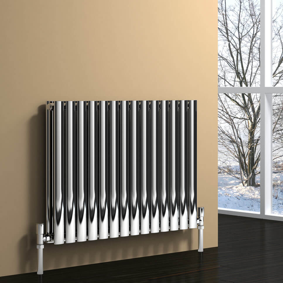 Reina Nerox 600mm High Double Panel Horizontal Radiator