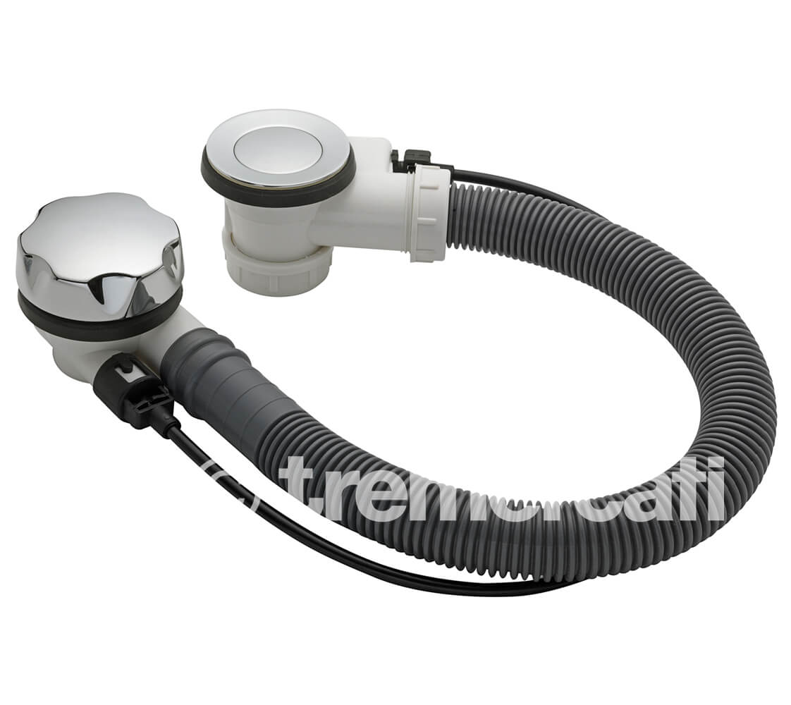 Tre Mercati Automatic Bath Waste With Stop Device And Solid Plug | 710A