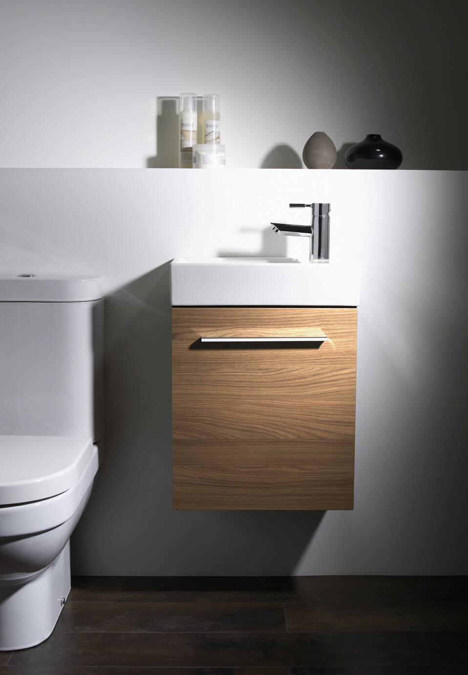 Tavistock Kobe 450mm Wall Mounted Unit And Basin Kwm45w