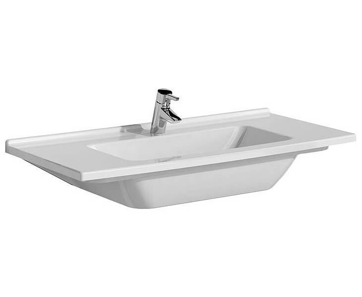 VitrA S50 Single Tap Hole Vanity Basin 600mm Wide