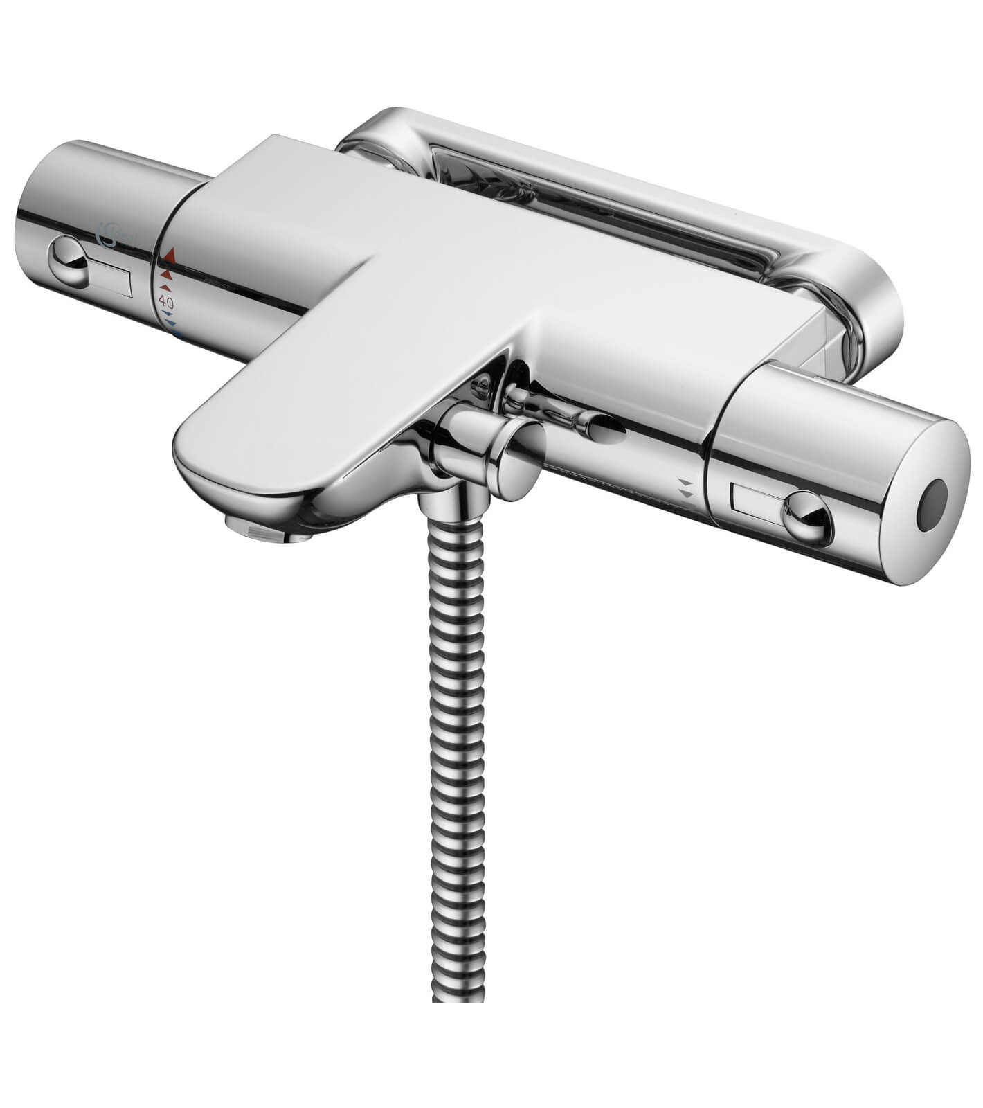 Thermostatic Bath Shower Mixer Tap ideal standard alto ecotherm thermostatic bath shower mixer tap