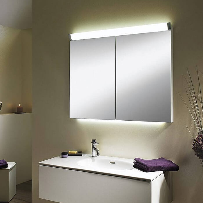 Schneider Mirrored Bathroom Cabinet
