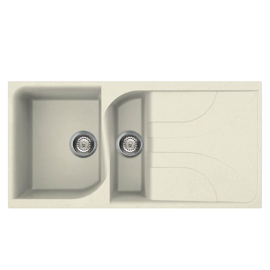 Super Reginox Ego 475 Inset 1 5 Bowl 1000 X 500Mm Granite Kitchen Interior Design Ideas Inamawefileorg