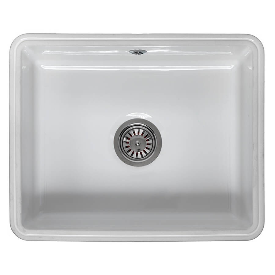 Reginox Mataro Single Bowl Ceramic Undermount Kitchen Sink 545 x ...