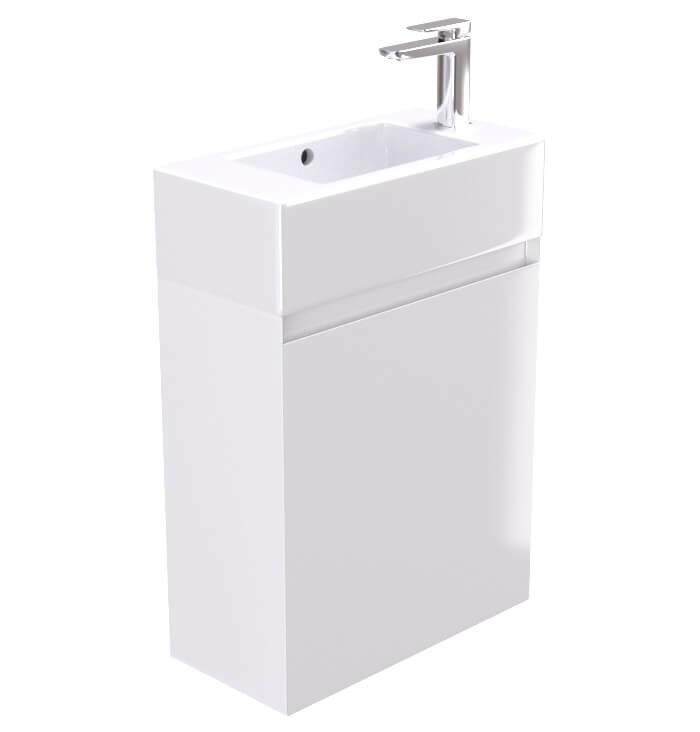 Matteo Kitchens: Saneux Podium 515mm Gloss White 1 Door Cabinet With Matteo