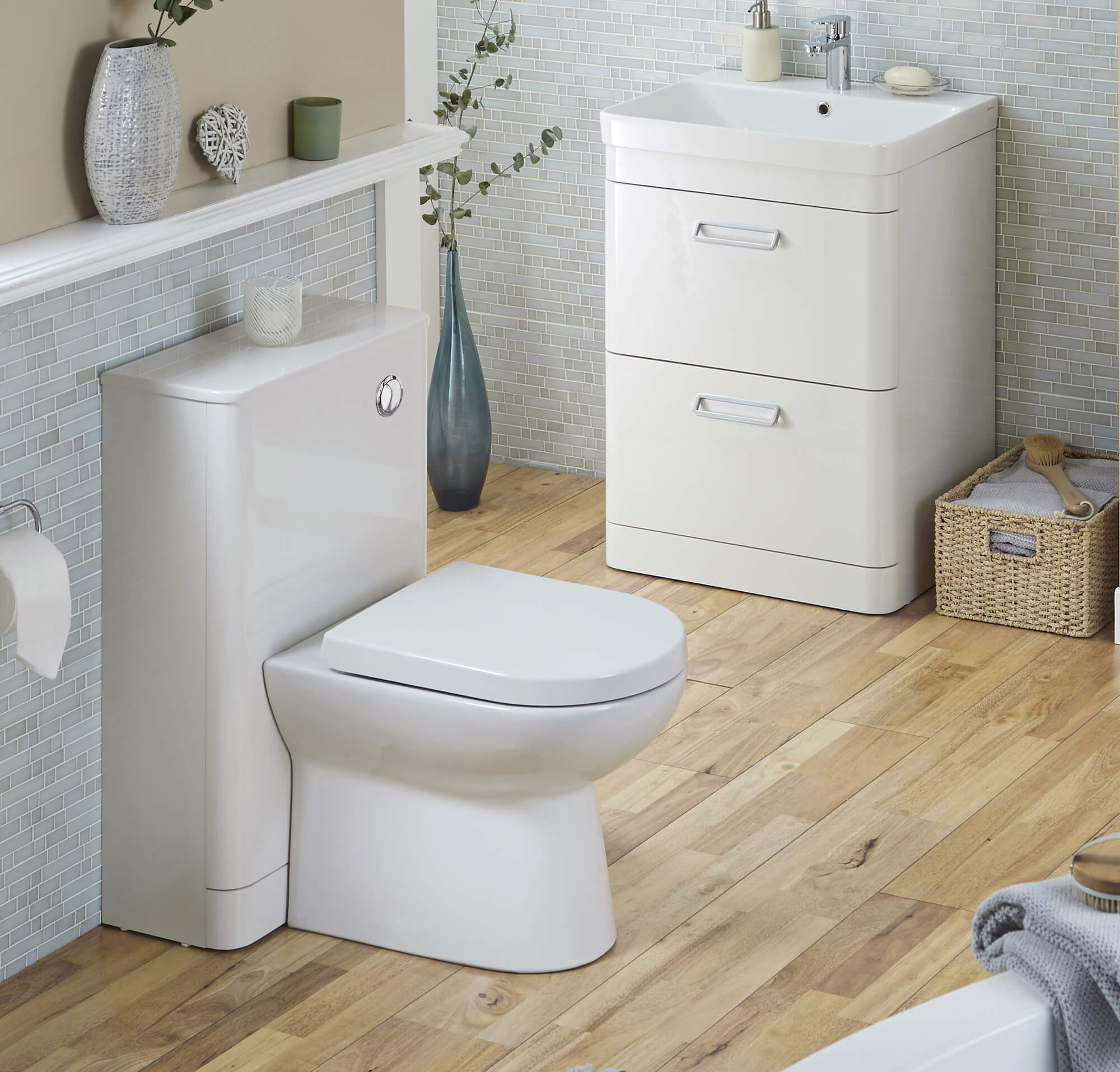 Kartell K Vit Metro 500mm Wc Unit With Concealed Cistern