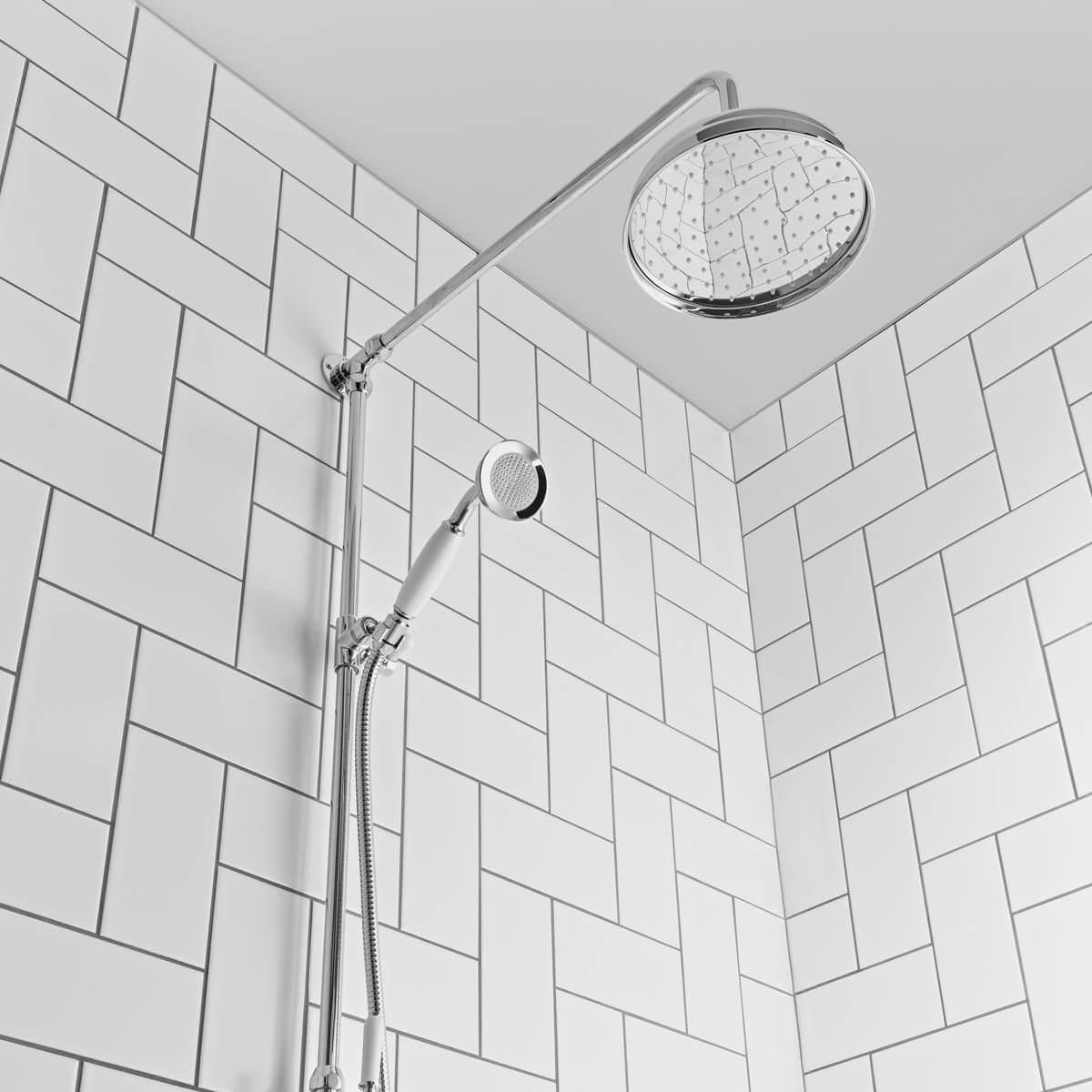 Tavistock Cheltenham Thermostatic Exposed Dual Function Shower System
