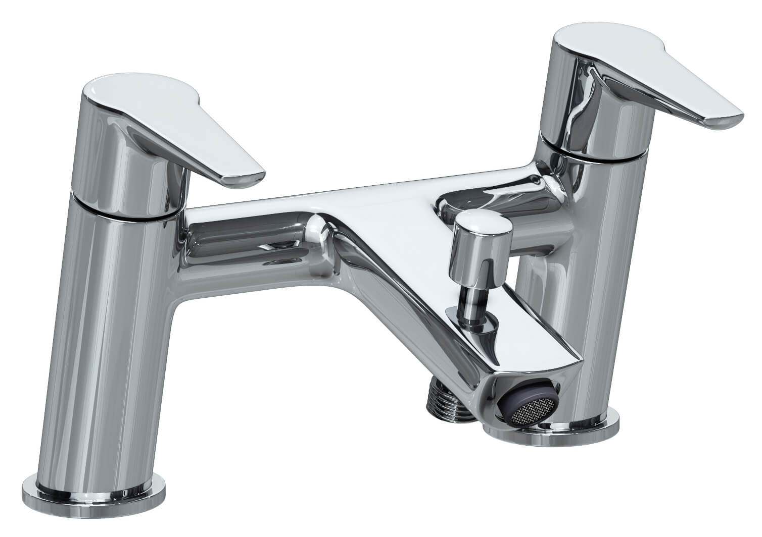 VitrA Solid S Deck Mounted Bath Shower Mixer Tap