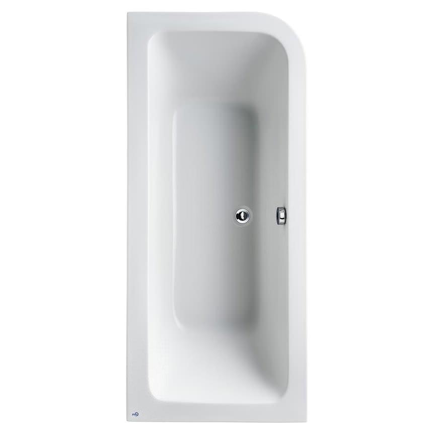 Ideal Standard Concept 1700 X 750mm Asymmetric Idealform Bath