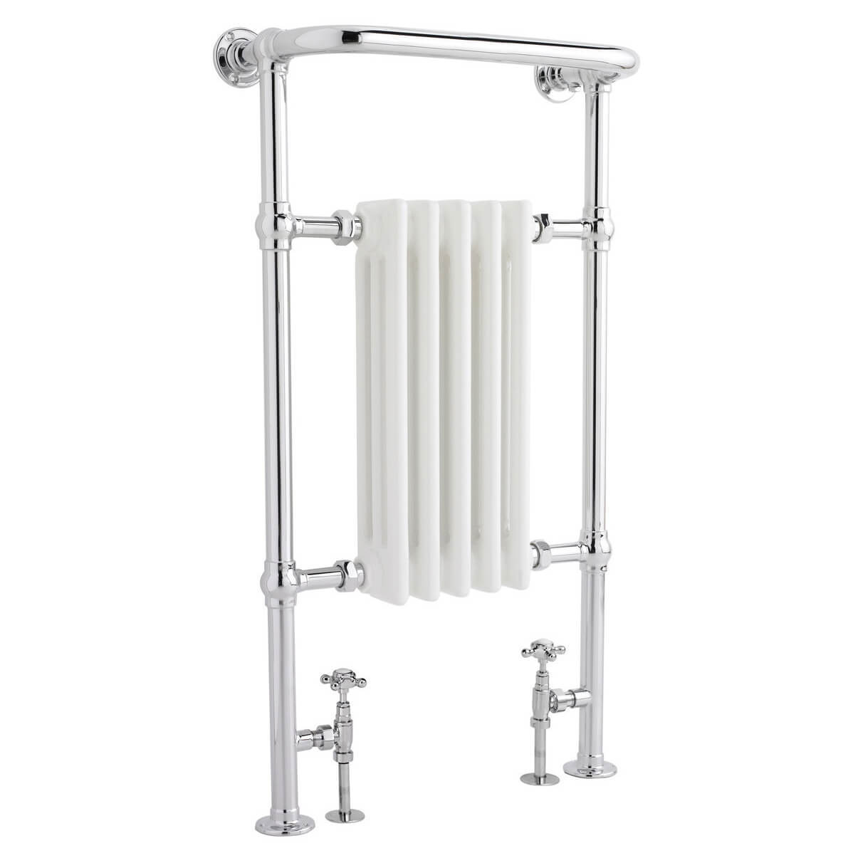 Hudson Reed Small Harrow 540 X 965mm Traditional Radiator Htd06