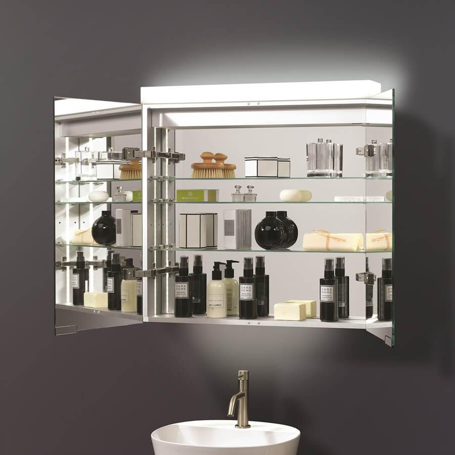 Crosswater Image Double Sided Mirror Door Cabinet Ig7070